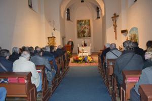 Ragbisté se v kostele rozloučili se Stanislavem Suchánkem, kde zazněla i ragbyová hymna